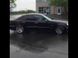 Mercedes E63 AMG W211 Drift &amp Amazing sound