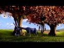 Фермер и Осел! Смешной мультик про ленивого осла (Farmer and donkey ! Funny cartoon )