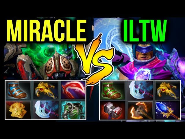 Miracle- vs iLtw [Dota2] Stop Focus on Me!