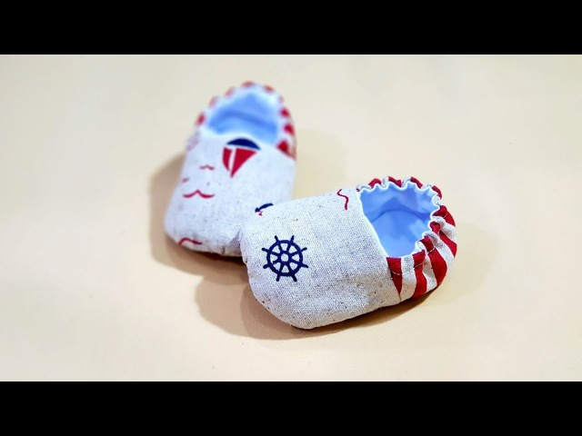 How to sew Baby Boots | Free Baby Booties Patterns HandyMum❤❤