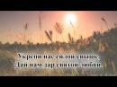 Гимны надежды гимн№107 О Господь наш Добрый Пастырь караоке