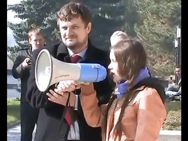 Кураторы вывели Вёльву на первое публичное выступление 04 11 2011