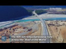 Breathtaking view! Watch the most beautiful expressway in Tibet
