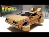 How to make DeLorean time machine from cardboardfrom Ready Player OneGta 5 Fly Car