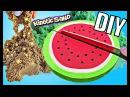 DIY КИНЕТИЧЕСКИЙ ПЕСОК СВОИМИ РУКАМИ ЛИЗУН из песка / Kinetic Sand Cake Watermelon