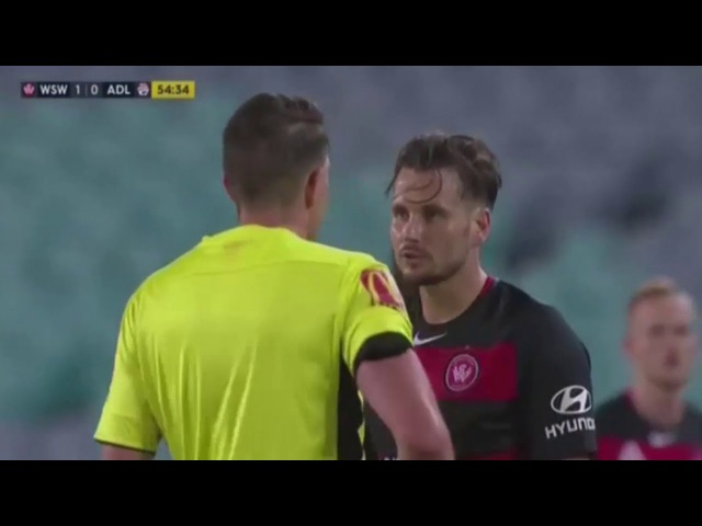 Western Sydney Wanderers 1:1 Adelaide United ● Australia A League 10/01/2018 ● Second Half