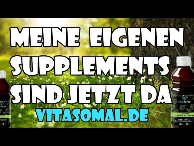 Meine eigenen Supplements sind da Liposomales Vitamin B12 OPC Vitamin C Zink Kurkuma