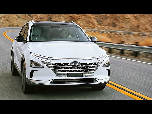2019 Hyundai NEXO (interior, exterior, and drive) – Fuel Cell Electric Vehicle (FCEV) / CES 2018