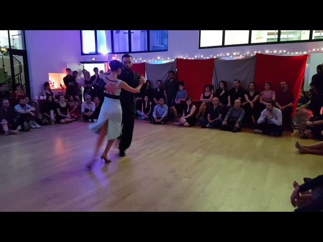 Veronica Toumanova Benjamin Solano perform in Paris - Tango - 14