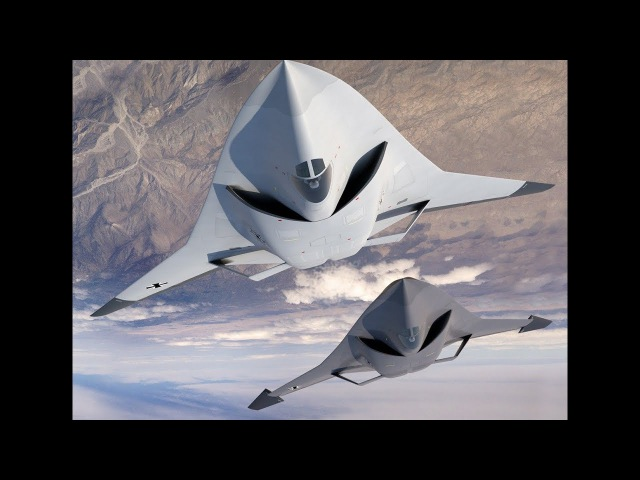 German Sixth Generation Stealth Jet Fighter, Futuristic Style Next Generation
