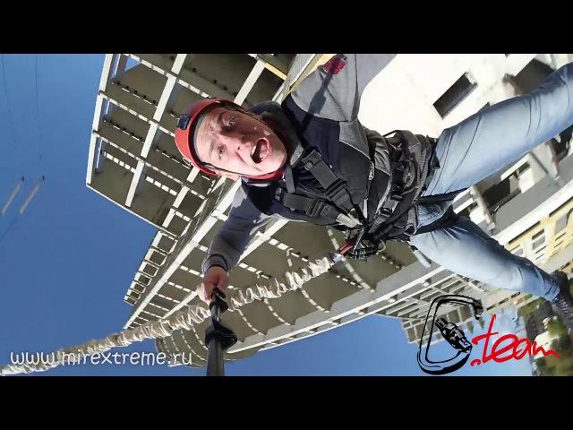 Прыжок на верёвке. Rope Jumping с GoPro