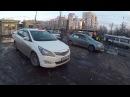 Стоянка таксистов на тротуаре у выхода из метро Новогиреево GOPR1982
