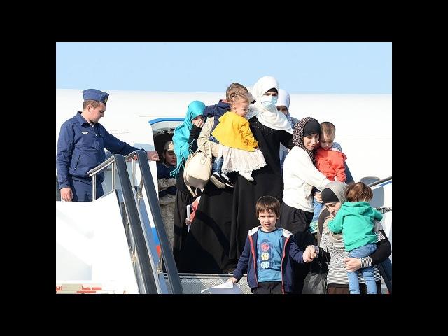 Дагестанку, добровольно вернувшуюся из Сирии, осудили на 8 лет.Новости от 16.02.2018
