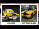 Cars 3 Characters in Real Life arabalar 3 filmi izle