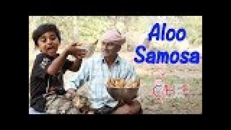 Samosa Recipe   Grandpa Teaching Minnu How To Make Samosa   Little Chef Minnu