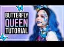 BUTTERFLY QUEEN - Schmetterlingskönigin - Makeup Kostüm DlY - Effie Trinket Inspired