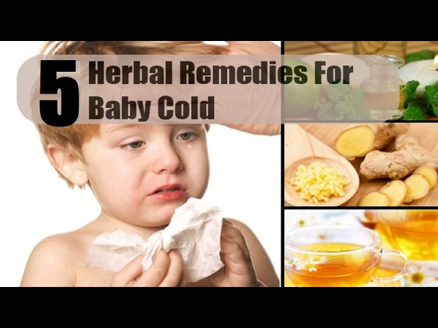 5 Home Remedies for Colds and Coughs in Babies.