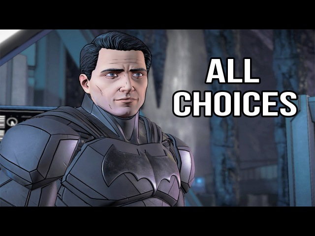 Batman Telltale Season 2 Episode 1 - All Choices/ Alternative Choices and Ending