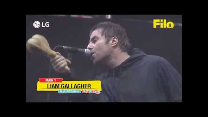 Liam Gallagher - Live Lollapalooza, Argentina 2018 (Full Concert)