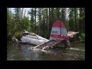 СИБИРСКИЕ РЫБАКИ КАМИКАДЗЕ часть 2 Путешествие на водометах по реке Хам Сара Тыва Сибирь