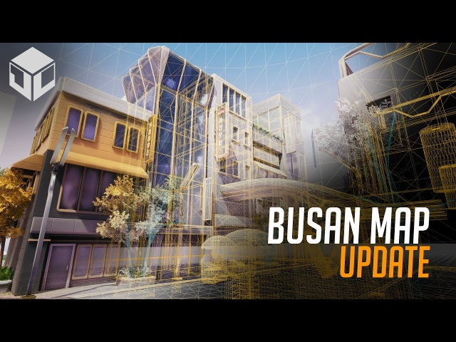 Busan Map Update ( Timelapse | Part 1 ) Unreal Engine 4 | Overwatch Inspired