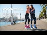 Powerslide Swell Flamingo фитнес на роликах
