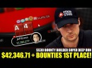 SUPER DEEP RUN in $530 Bounty Builder w/ $42,346.71 bounties to 1st PLACE!