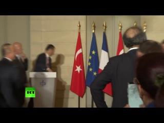 Point presse d'Emmanuel Macron et de Recep Tayyip Erdogan 5.01.2018