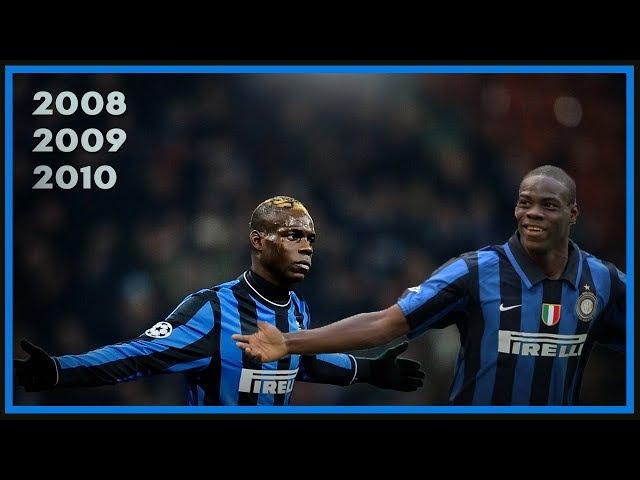 Mario Balotelli Adolescente - Inter 2008, 2009 2010
