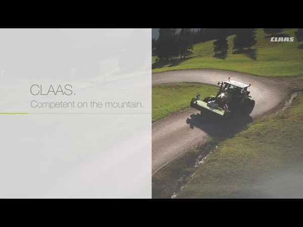 CLAAS. Competent on the mountain. / 2018 / en