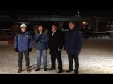 Прямой эфир со стройплощадки моста 30 ноября