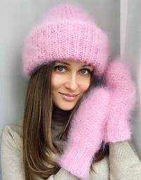 Shapkibabalena шапки из мохера вконтакте