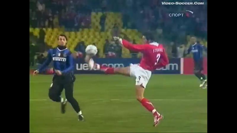 Лига Чемпионов 2006/07. Спартак (Россия) - Интер (Италия) - 0:1 (0:1).