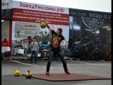 Базовые элементы в силовом жонглировании гирями, и методика тренировок силового жонглёра.
