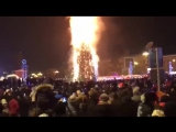 Новый год ! Елочка гори ! Сахалин. 2018