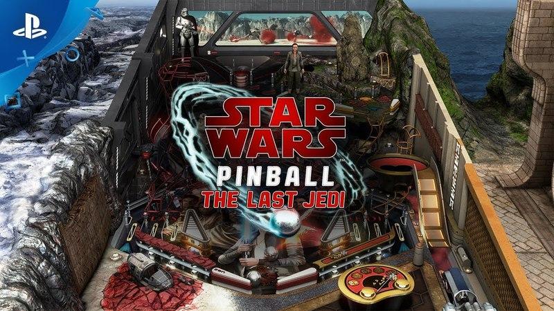 Pinball FX3 - Star Wars Pinball The Last Jedi - Coming Soon | PS4