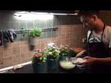 Творожный пирог с арбузом- Ринат Каримов
