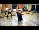 Marta Khanna and Julio Napoles, ''TO IBAN ESHU'' project, giving Rumba Guaguanco class in Krasnoyars
