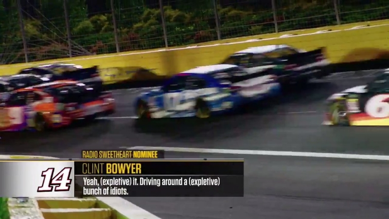Radioactive All-Star Race - Yeah, (expletive) it. Driving around a (expletive) bunch of idiots.