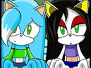 ::Recoloring【Sonic X】To Ice The Cat And Diara The Bat:: ~Request - PrincessIce TheCat~