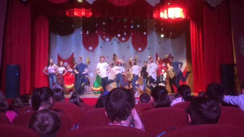 3 отряд - танец Дружба народов
