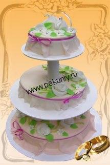 Торты на свадьбу фото в Раменском