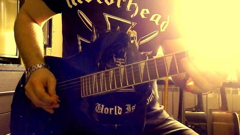 Metallica Fade To Black Intro Solo Cover