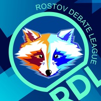 Логотип Rostov Debate League