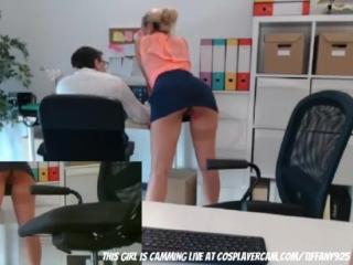 Tiffany925 - filmed my secretary with a hidden cam [throat solo blowjob dildo webcam chaturbate bongacams webcam teen anal]