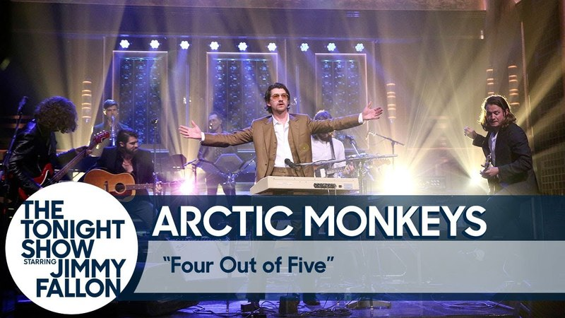 Arctic Monkeys - Four Out of Five live at The Tonight Show Starring Jimmy Fallon