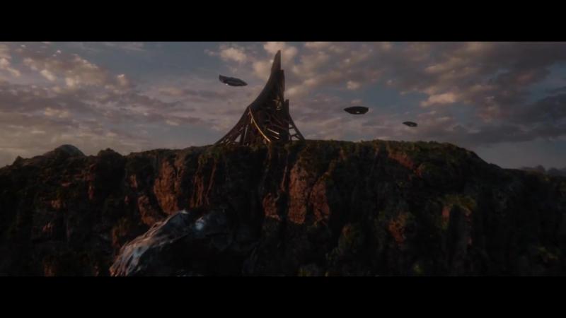 Чёрная Пантера - Второй трейлер [Bazinga] Marvel