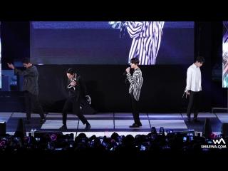 [FANCAM] NU'EST W - Hello (Suwon Women's University Festival 21.09.17)