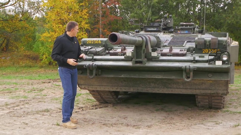 Рассмотри Strv 103C. В командирской рубке. Часть 1 [World of Tanks]