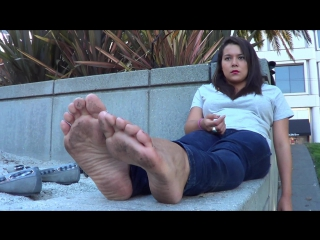 Police officer sexy dirty feet